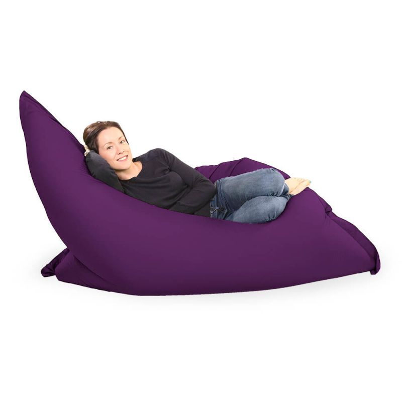Giant Adult Beanbag in Purple