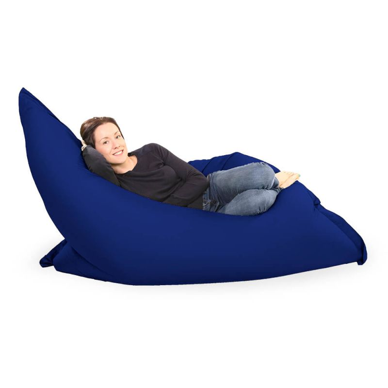 Giant Adult Beanbag in Royal Blue