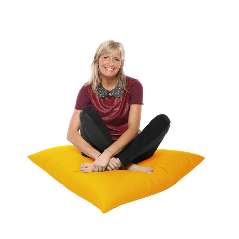 Vibe Giant Floor Cushion Bean Bag - Ochre