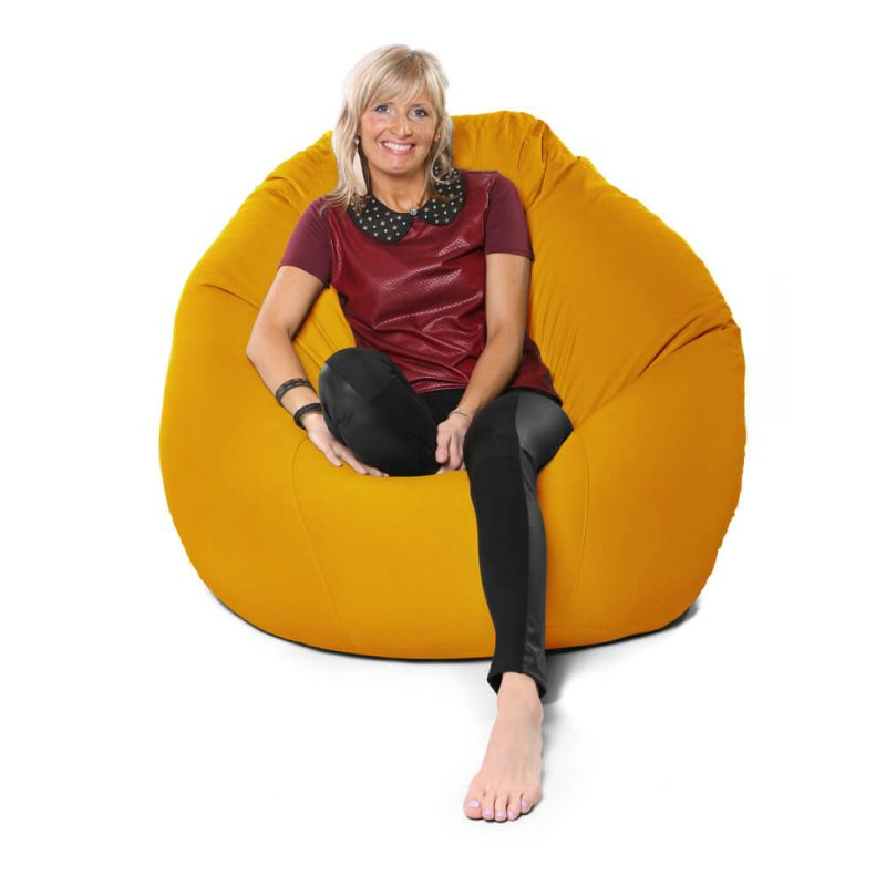 Vibe Giant Mansize Bean Bag - Ochre