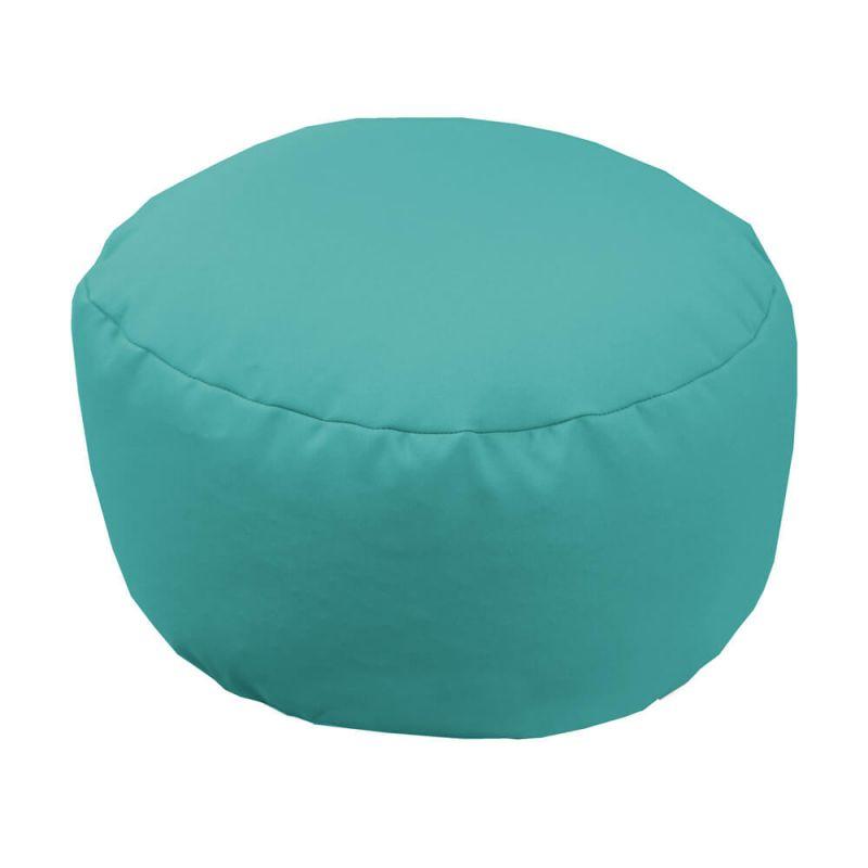 Vibe Footstool Bean Bag - Aquamarine