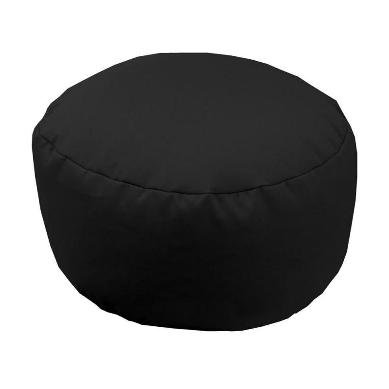 Vibe Footstool Bean Bag - Black
