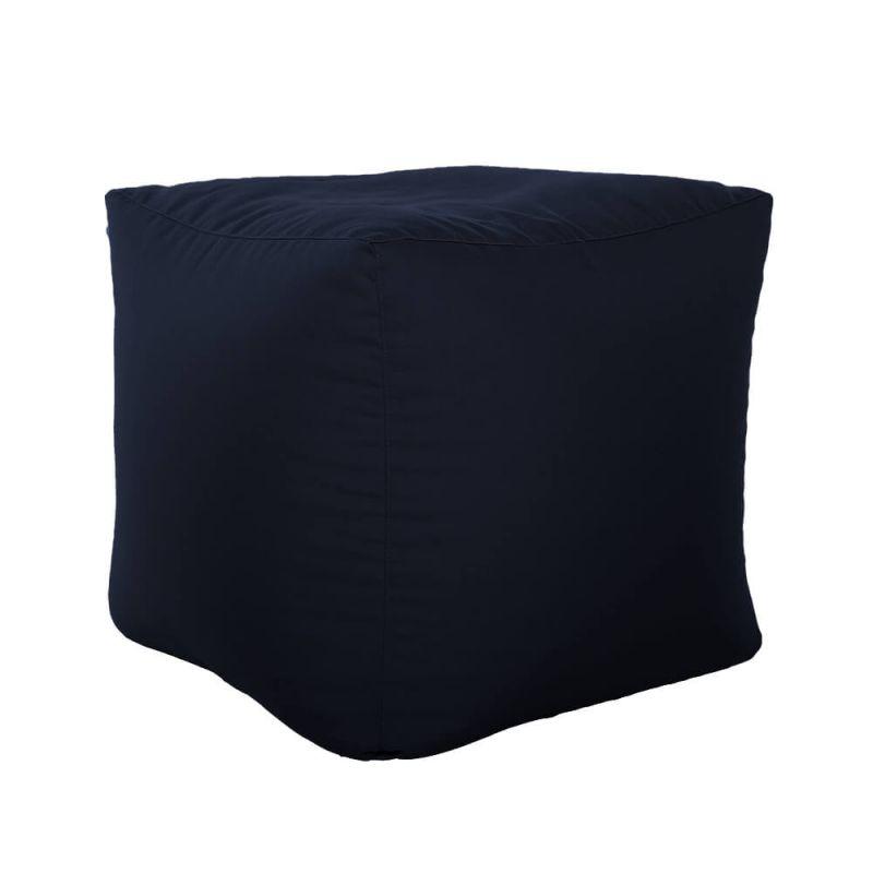 Vibe Cube Bean Bag - Navy Blue