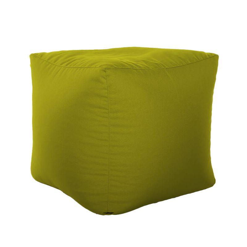 Vibe Cube Bean Bag - Olive Green