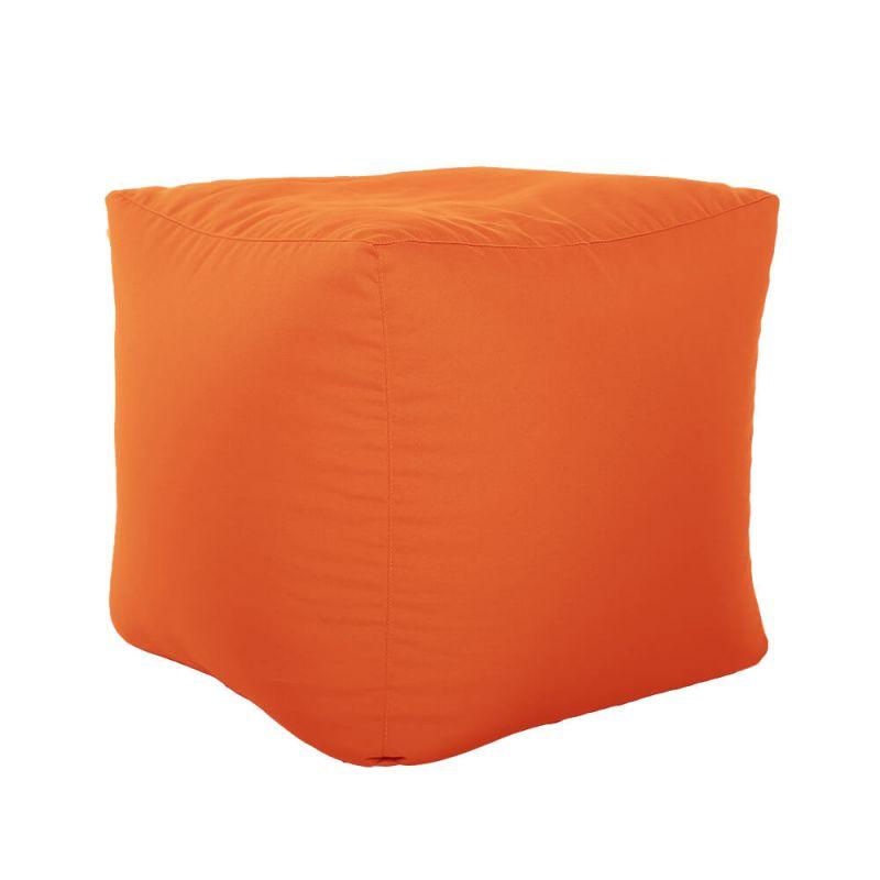 Vibe Cube Bean Bag - Orange