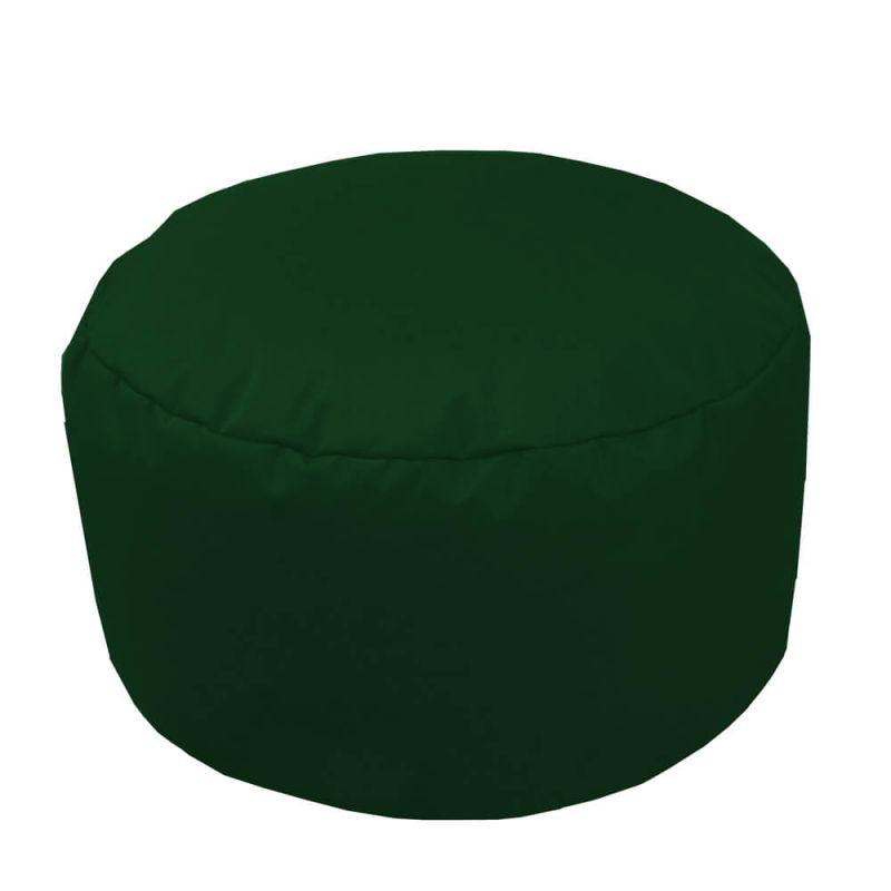 Indoor & Outdoor Footstool Bean Bag - Bottle Green