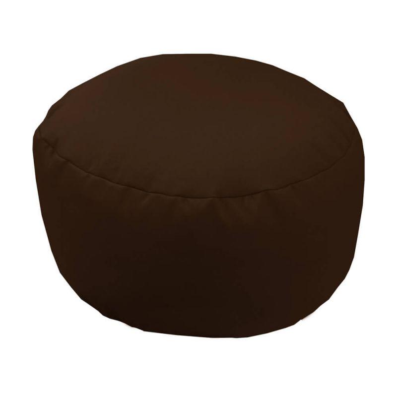 Vibe Footstool Bean Bag - Brown