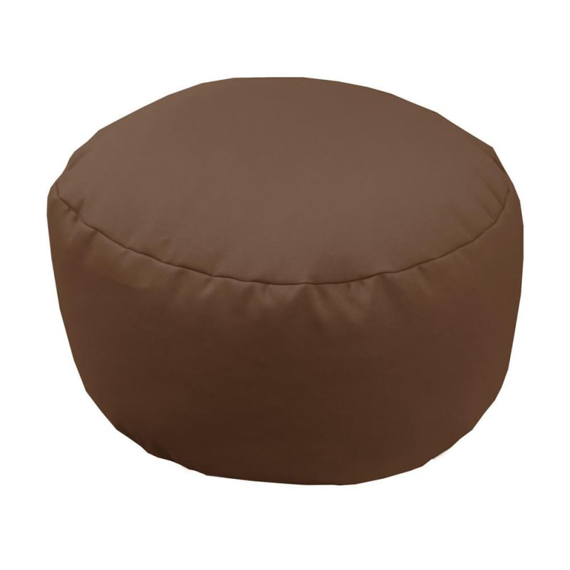 Vibe Footstool Bean Bag - Chocolate Brown