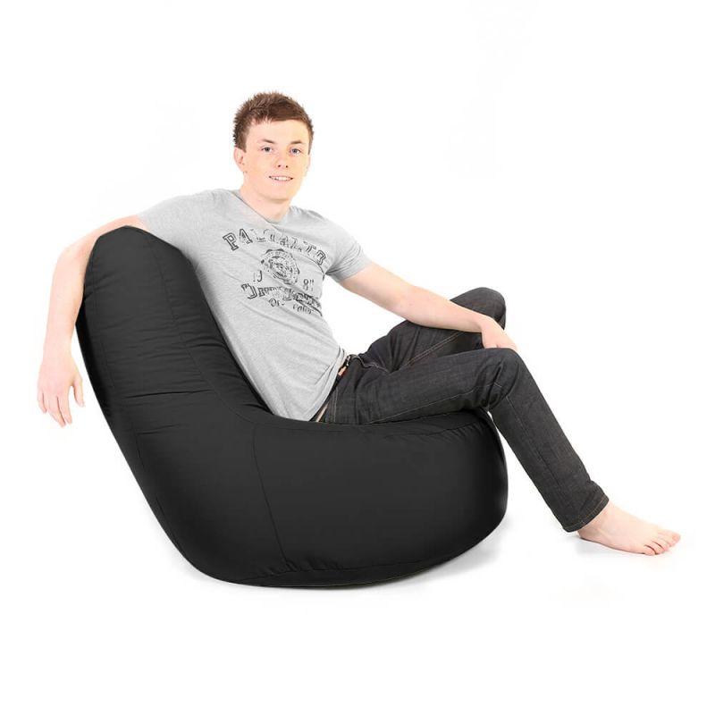 Indoor & Outdoor Giant Comfy Chair - Black