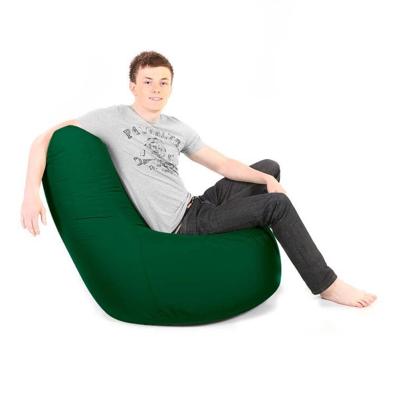 Indoor & Outdoor Giant Comfy Chair - Bottle Green