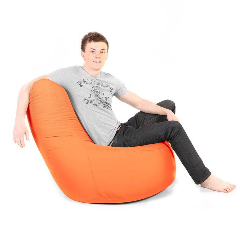 Indoor & Outdoor Giant Comfy Chair - Orange