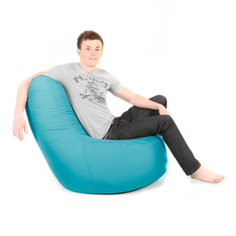 Indoor & Outdoor Giant Comfy Chair - Turquoise
