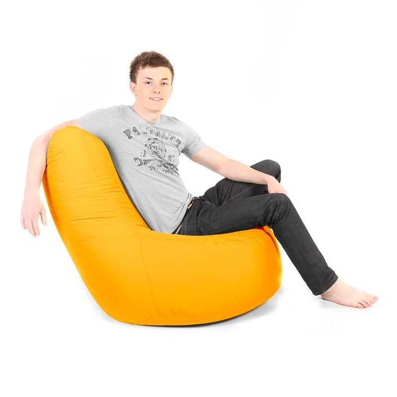 Indoor & Outdoor Giant Comfy Chair - Yellow