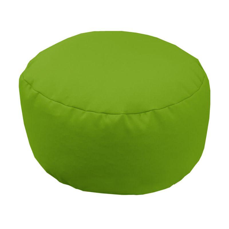 Vibe Footstool Bean Bag - Lime Green