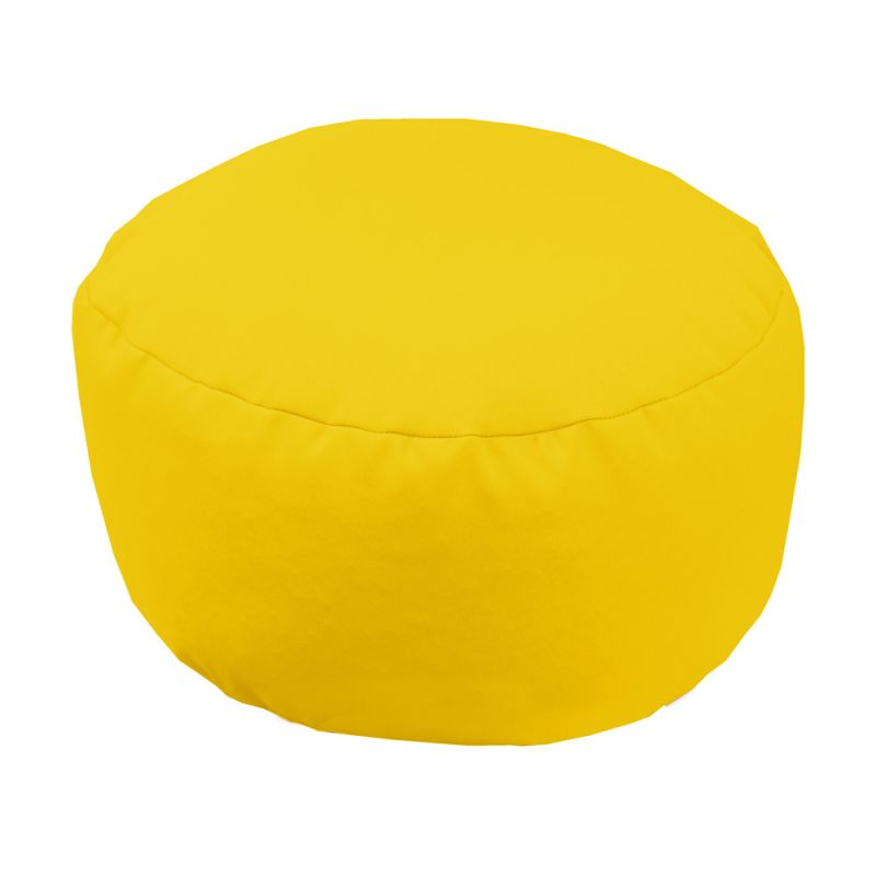 Footstool in Yellow