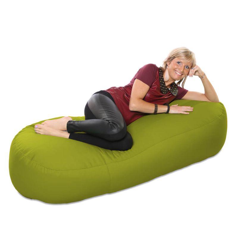 Vibe 5ft Bean Sofa Bean Bag - Olive Green