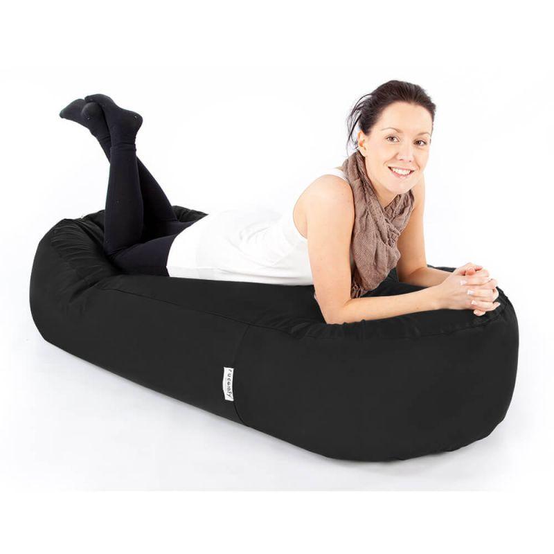 Indoor & Outdoor 5ft Bean Sofa Bean Bag - Black