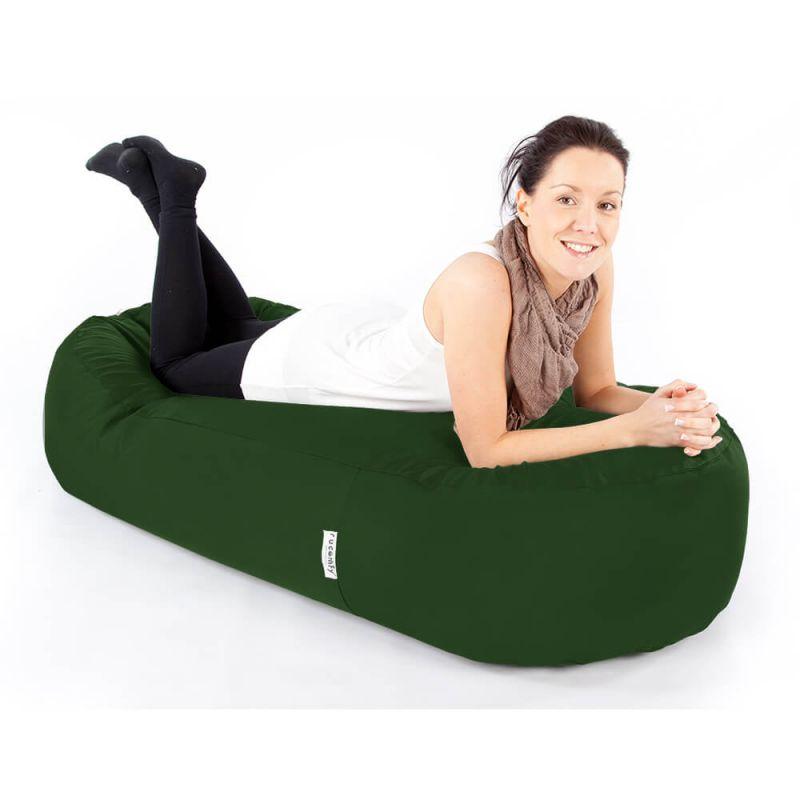 Indoor & Outdoor 5ft Bean Sofa Bean Bag - Bottle Green
