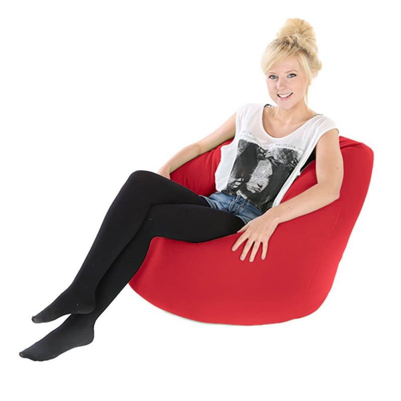 Faux Leather Adult Handle Bean Bag