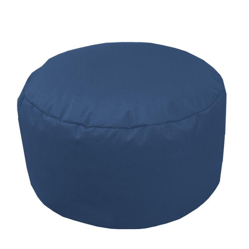 Indoor & Outdoor Footstool Bean Bag - Royal Blue