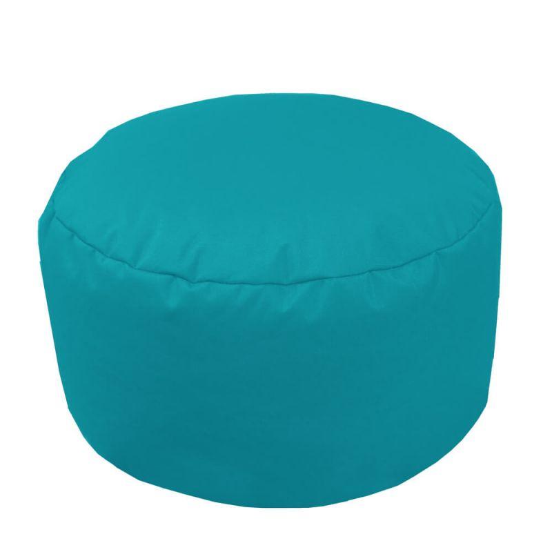 Indoor & Outdoor Footstool Bean Bag - Turquoise