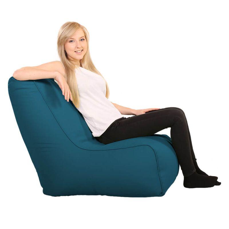 Vibe Comfy Adult Chair Bean Bag - Teal
