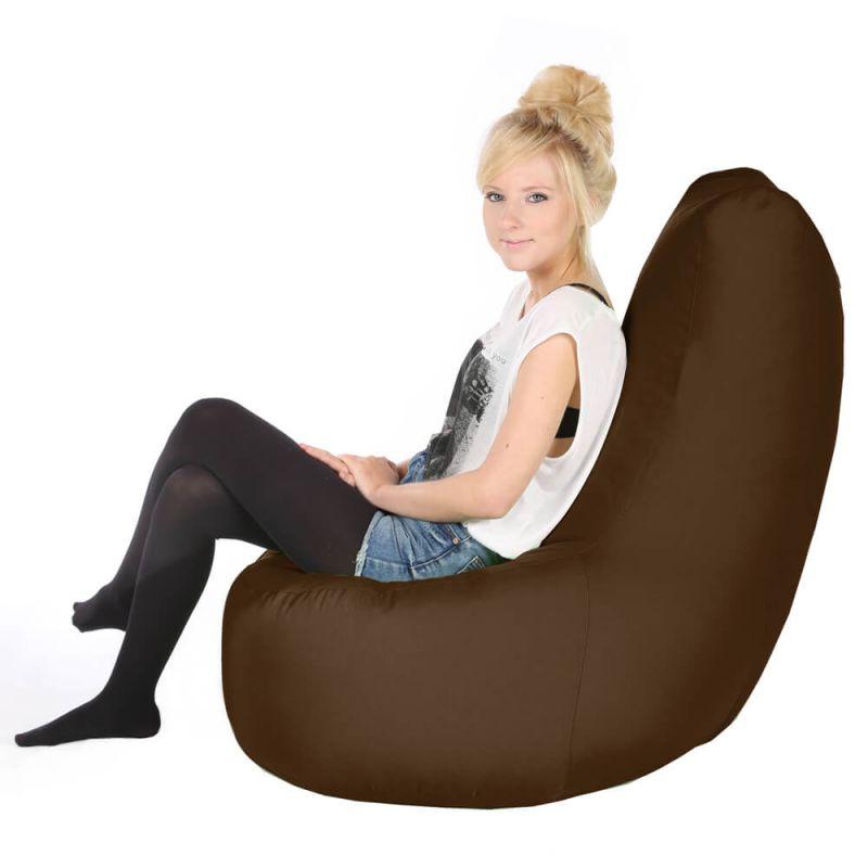 Vibe Giant Comfy Chair - Chocolate Brown